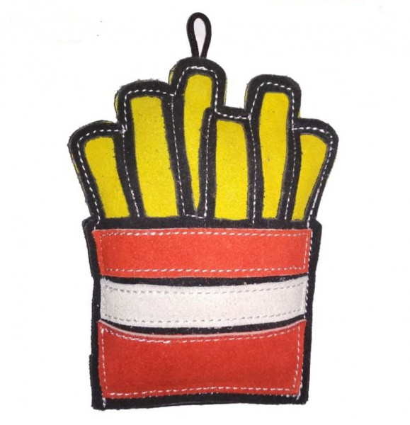 LoveThyBeast Lederspielzeug French fries
