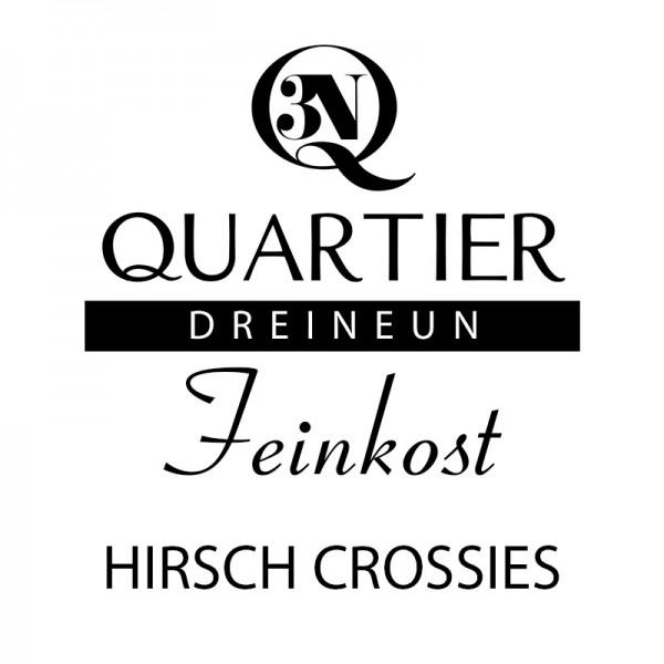 Q3N Feinkost Hirsch Crossies
