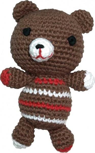 Häkelspielzeug Teddy, braun