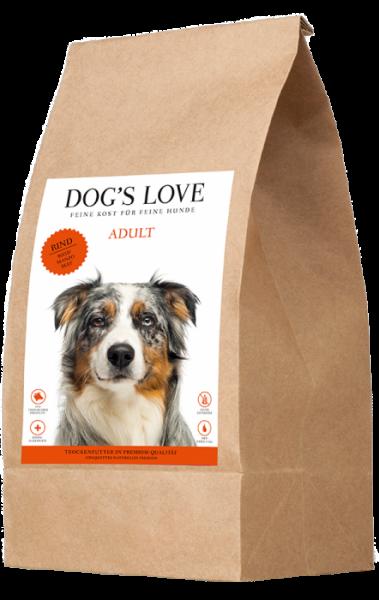 Dogs Love Trockenfutter Rind