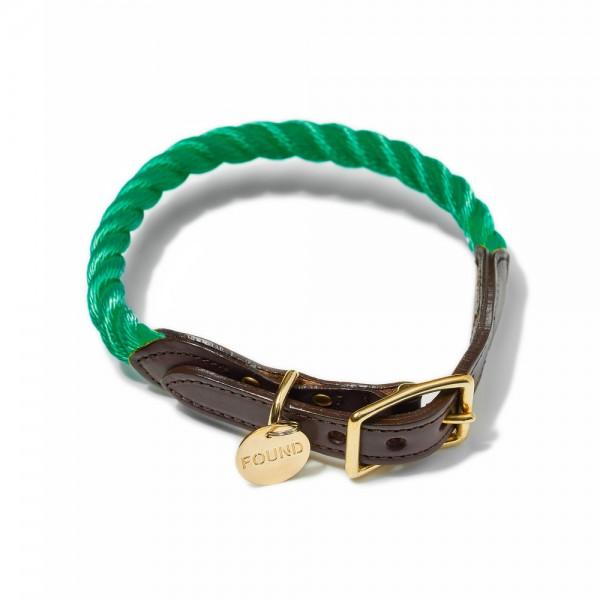 Found my animal Halsband Rope Miami Green
