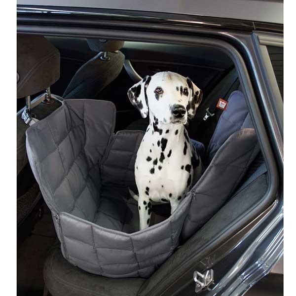Doctor Bark Autodecke Rücksitz 1-Sitz Grau
