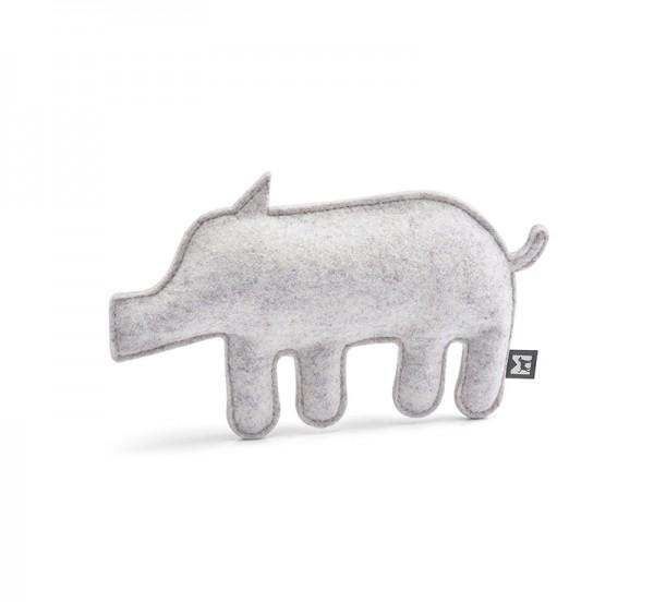 MiaCara Hundespielzeug Bosco, Wildschwein Grau