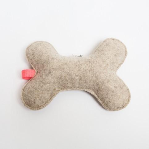 Cloud7 Hundespielknochen Filz