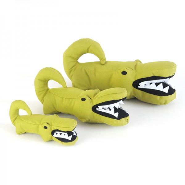 BEcothings Hundespielzeug Aretha - das Krokodil