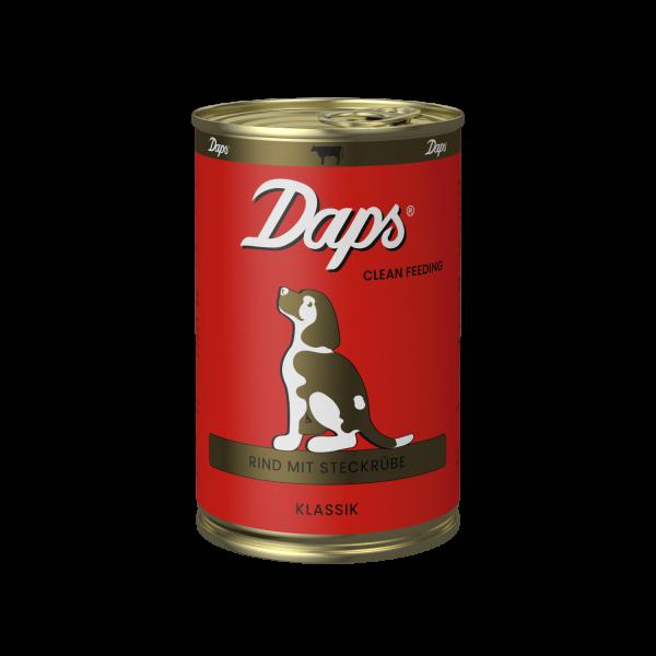 Daps Nassfutter KLASSIK - Rind mit Steckrübe