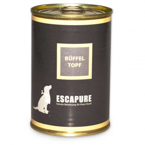 Escapure Nassfutter Büffel Topf