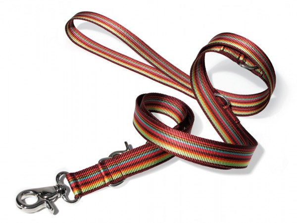 dogma Verstellleine stripes bordeauxbunt
