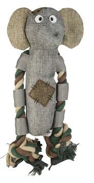 Hundespielzeug Elton Elefant