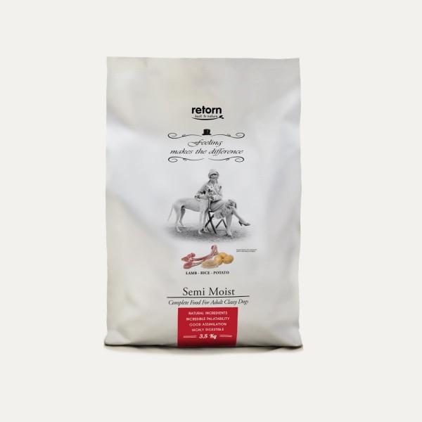 Retorn Halbfeuchtes Hundefutter Lamm-Reis-Kartoffel