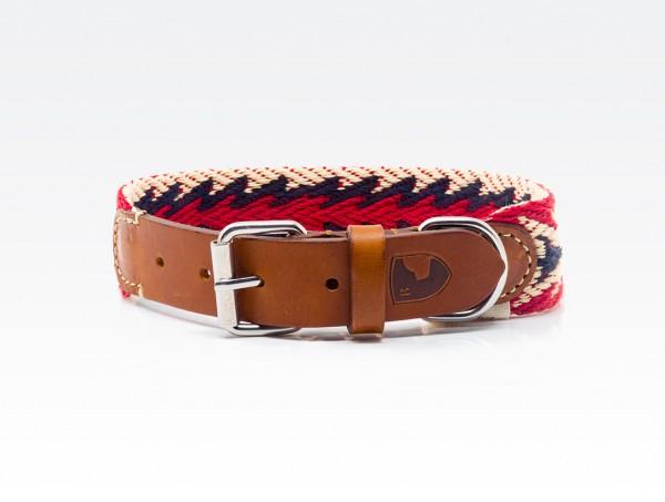 Buddys Halsband Peruvian Arrow Red