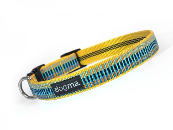 dogma Hundehalsband sunny beach gelb-aqua