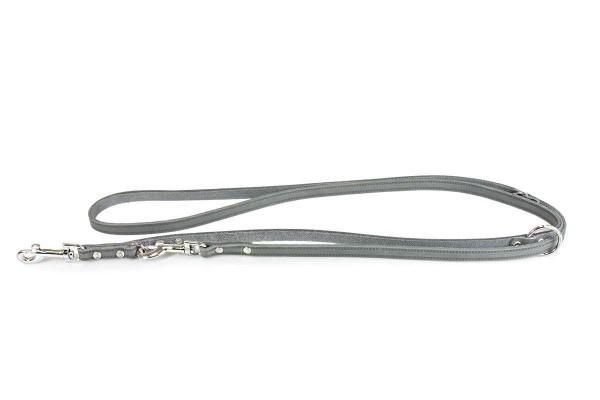 Leder-Verstellleine Weinheim Granit 2,0m