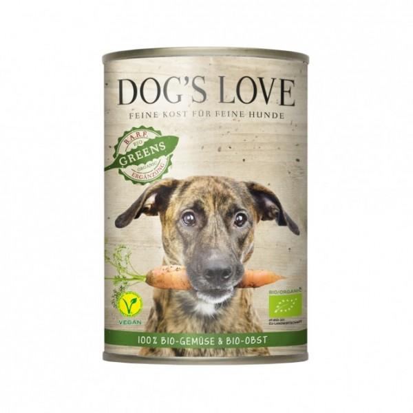 Dogs Love BIO Greens, 100% BIO Gemüse