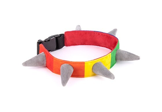 P.L.A.Y. Softspielzeug Spiked! Rainbow Collar