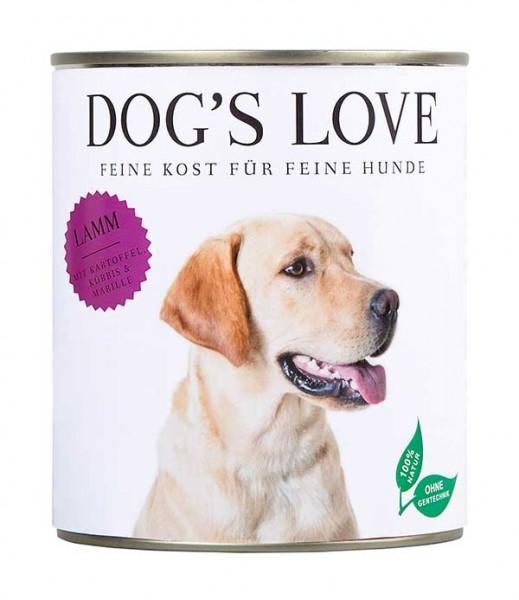 Dogs Love Nassfutter Lamm