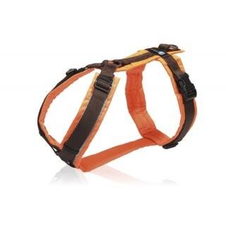 AnnyX Brustgeschirr Protect Orange-Braun