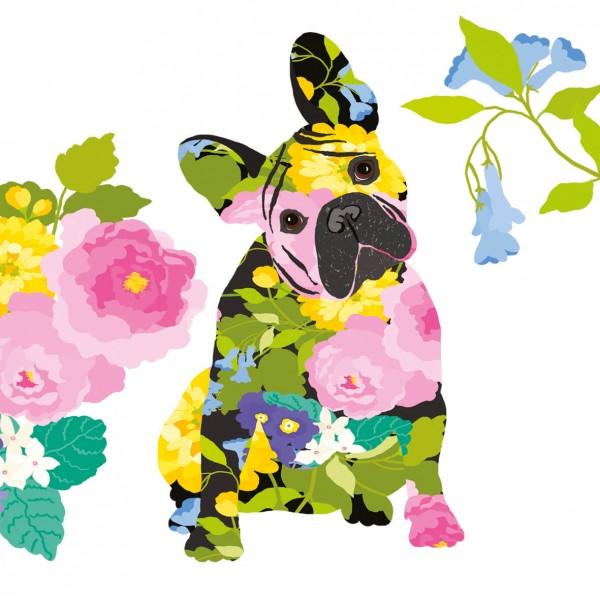 Servietten / Frenchy Flower